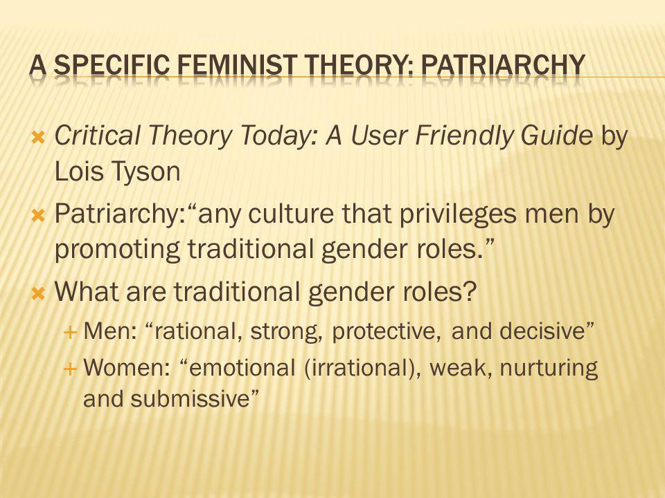 The re-articulation of power through institutional practice Economic Political What are the implications of patriarchy.