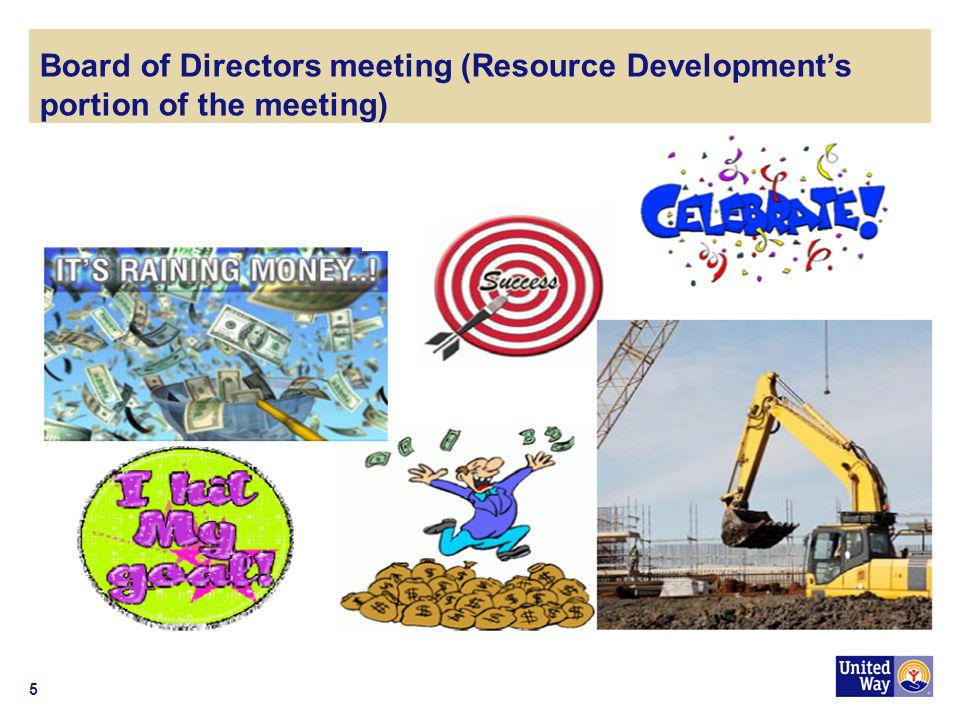 5 Board of Directors meeting (Resource Developments portion of the meeting)