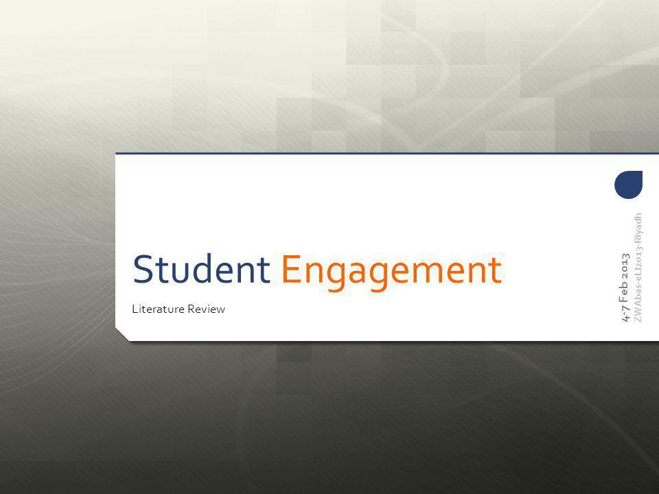 4-7 Feb 2013 ZWAbas-eLI2013-Riyadh Teaching of Content Gaining of Knowledge, Understanding, Skill and Experience