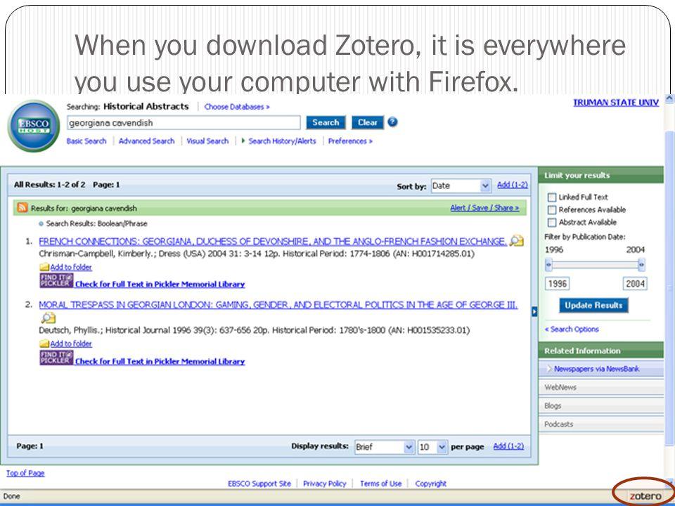 Zotero Bibliography Maker