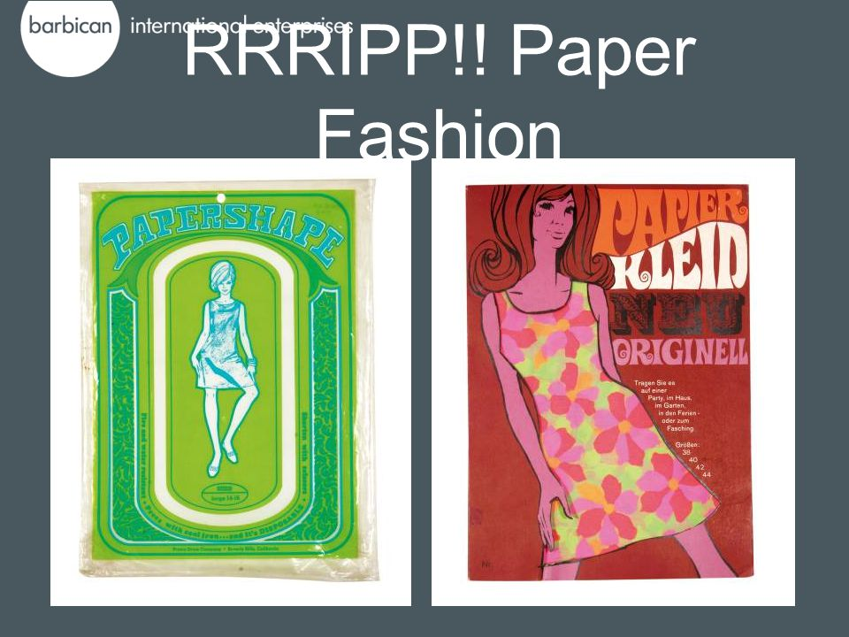 RRRIPP!! Paper Fashion
