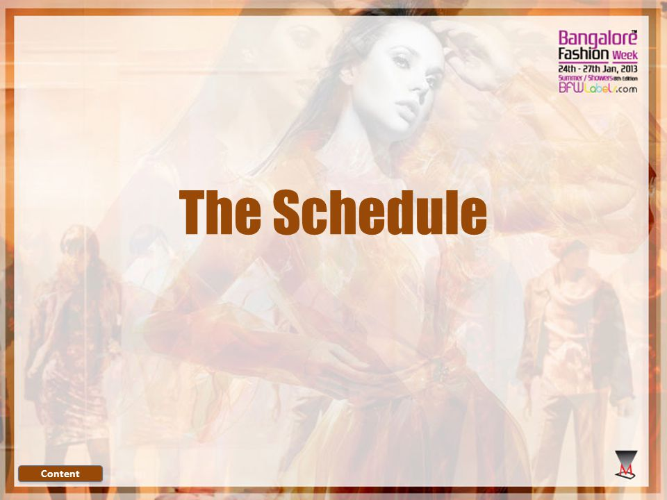 The Schedule Content