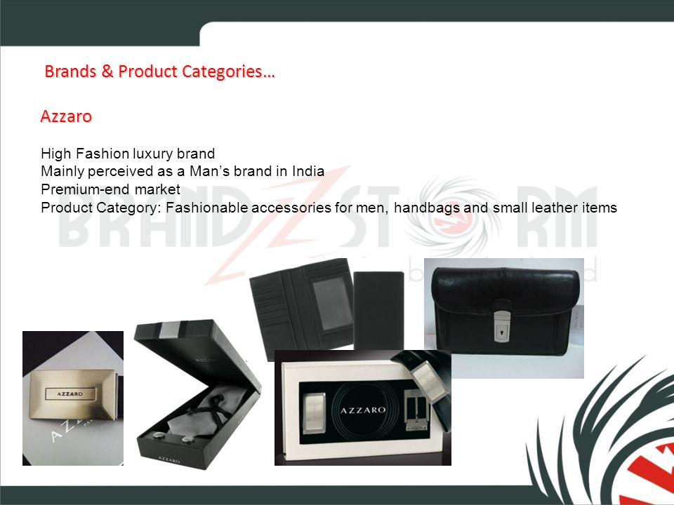 Brands & Product Categories… Brands & Product Categories… Giordano Time-wear (Promotional) Reflects todays modern urban lifestyle.