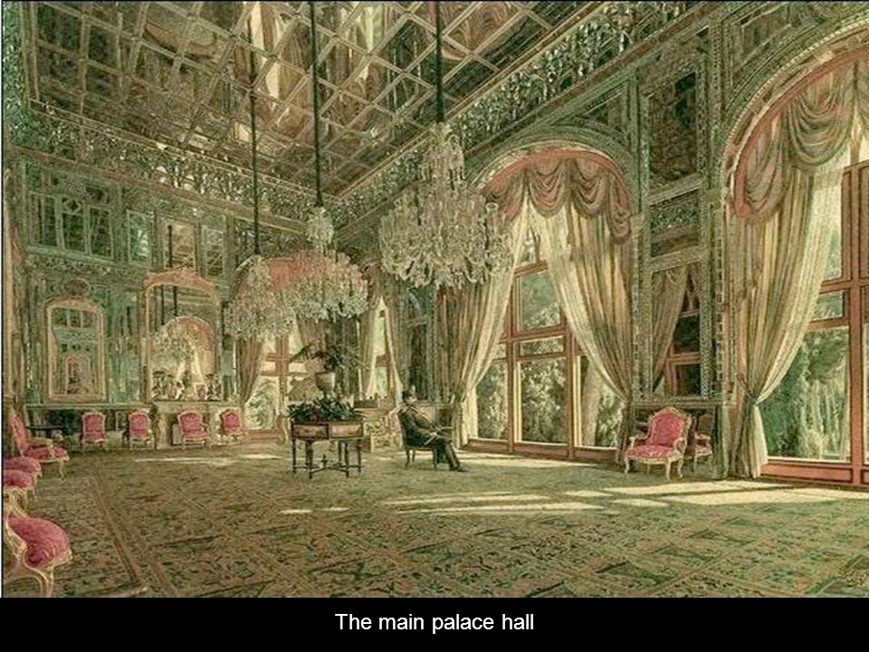Golestan Palace was built in the 16th century and renovated in the 18th century
