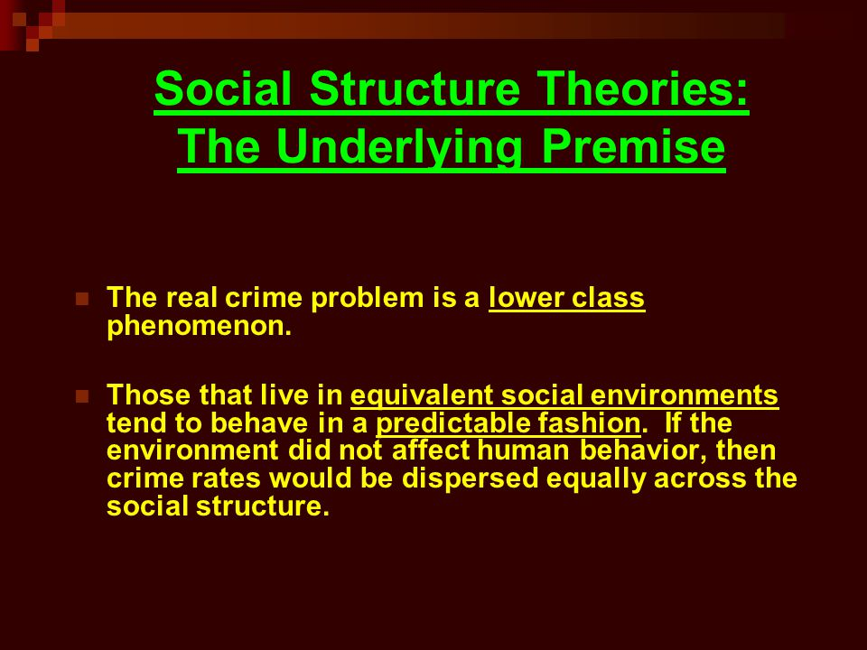 The Three Branches of Social Structure Theory