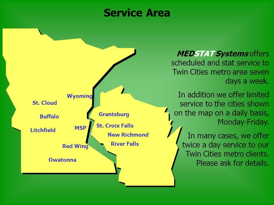Service Area St.