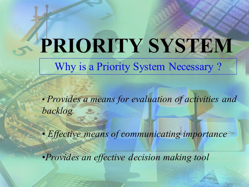 Prioritizing Maintenance Work By C. Paul Oberg, President EPAC Software Technologies, Inc.