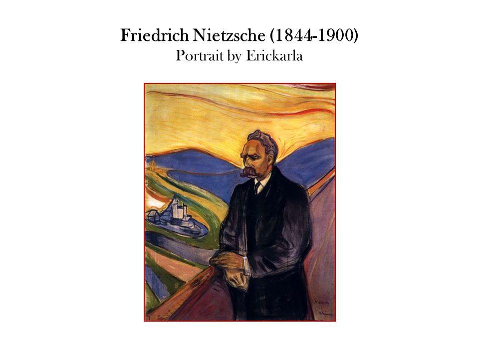 Friedrich Nietzsche (1844-1900) Portrait by Erickarla