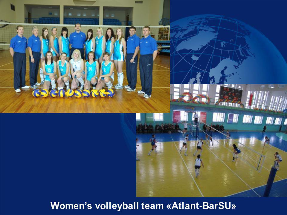 Womens volleyball team «Atlant-BarSU»