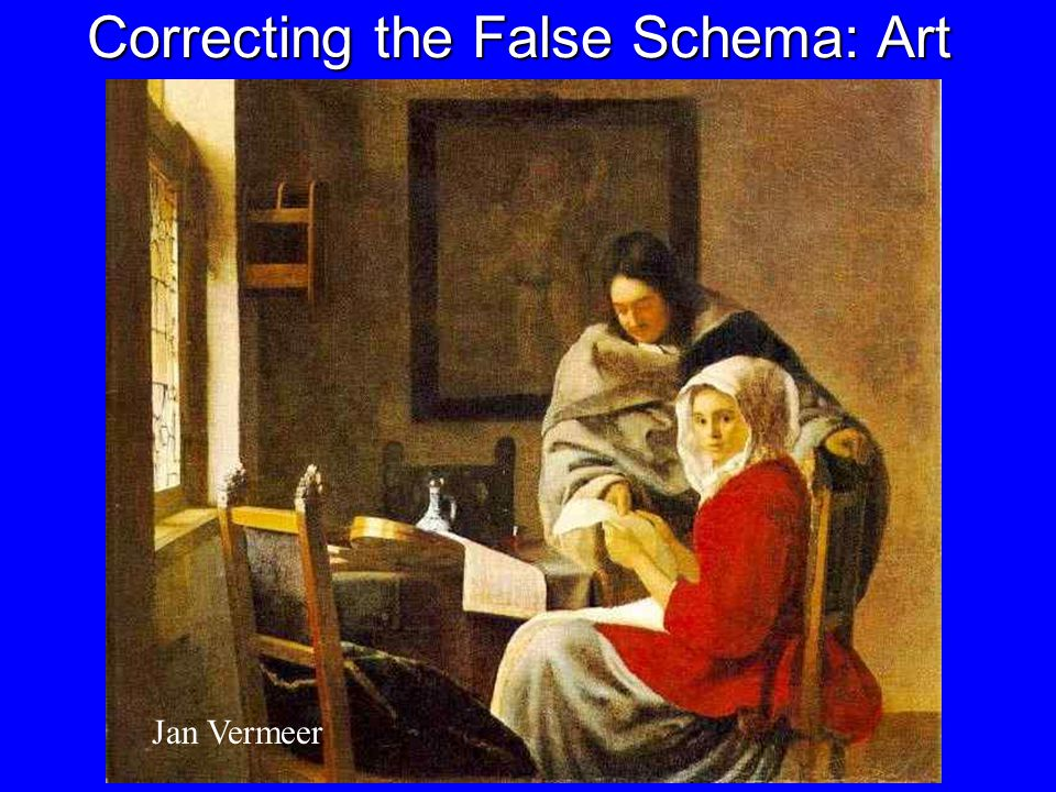 Correcting the False Schema: News