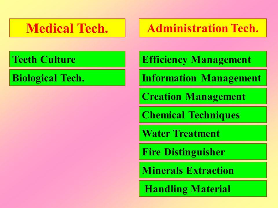 Administration Tech.