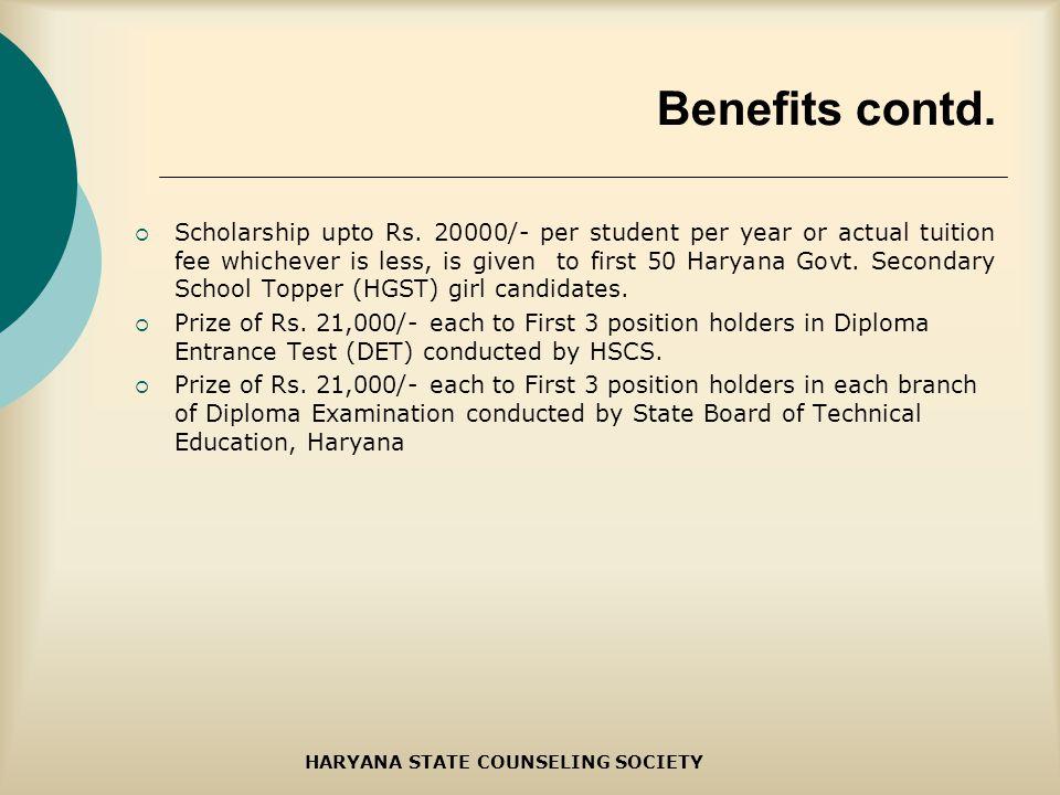 Scholarship upto Rs.