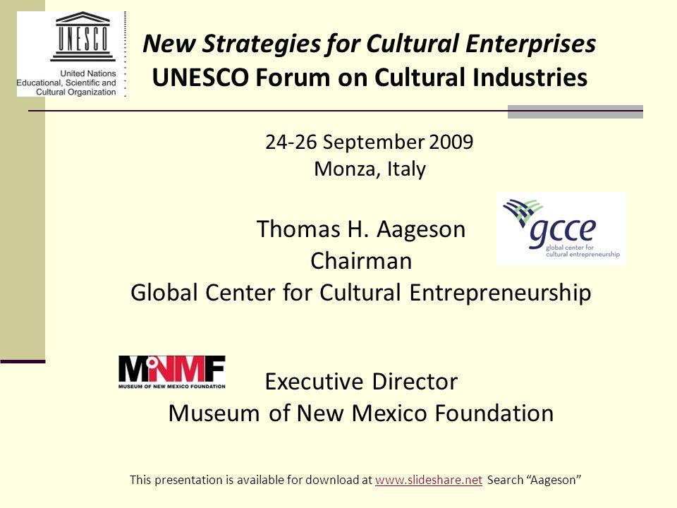 Associations with focus on Cultural Entrepreneurship United States Association for Small Business and Entrepreneurship has an area for cultural entrepreneurship.