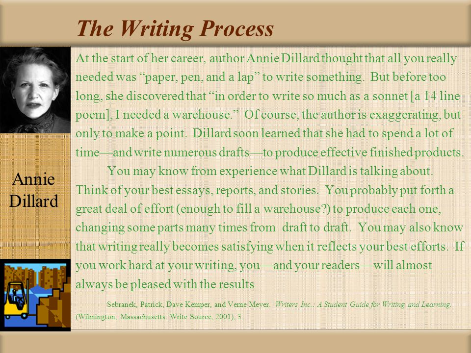 The Writing Process Writing and Past Misconceptions: Traditionally, the teaching of writing assumed a one-draft only mentality.