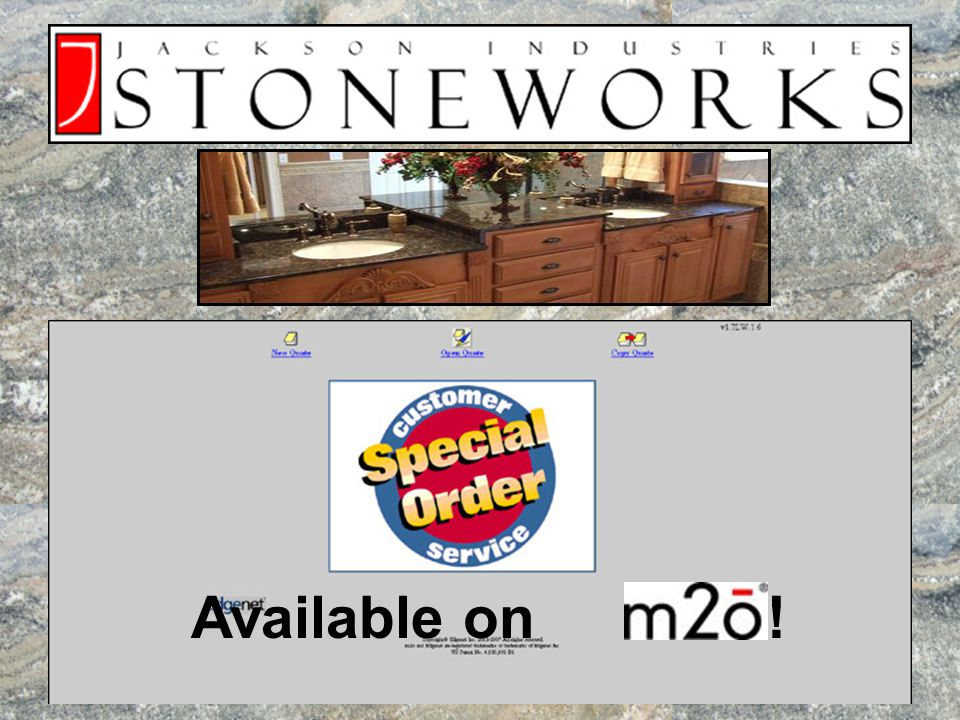 Click Fashion Plumbing division to find Jackson Stoneworks Granite Vanity Tops