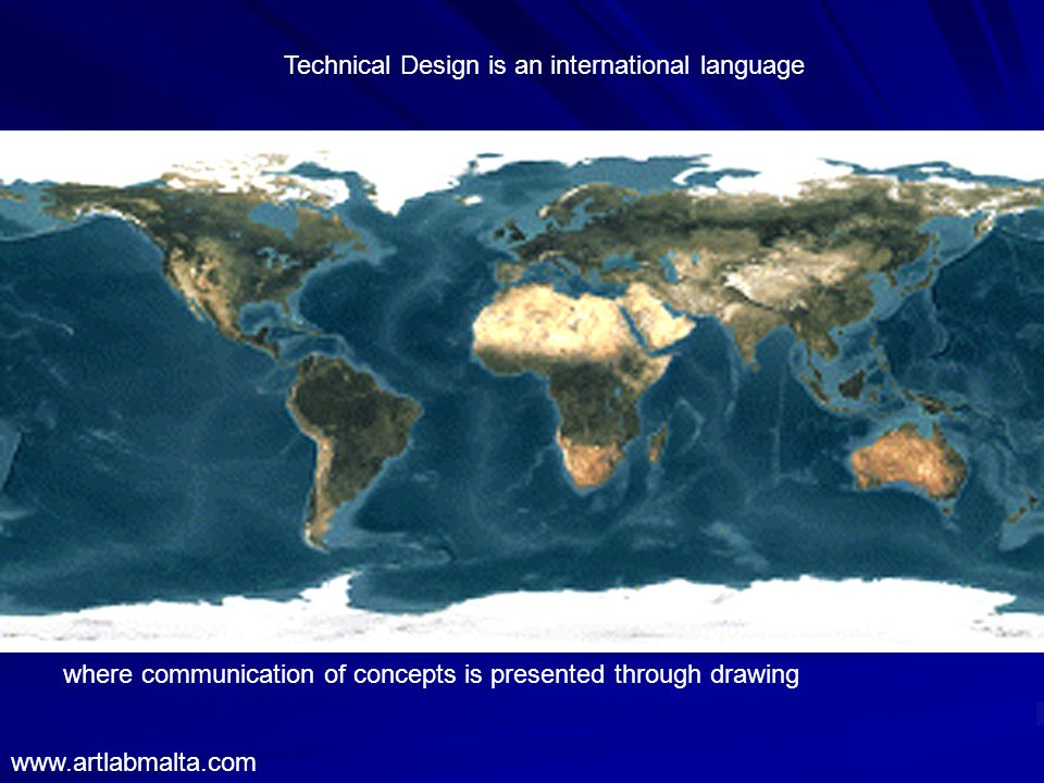 Technical Design is an international language where communication of concepts is presented through drawing