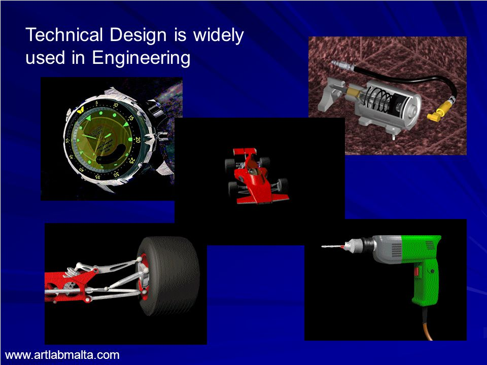 Technical Design is widely used in Engineering