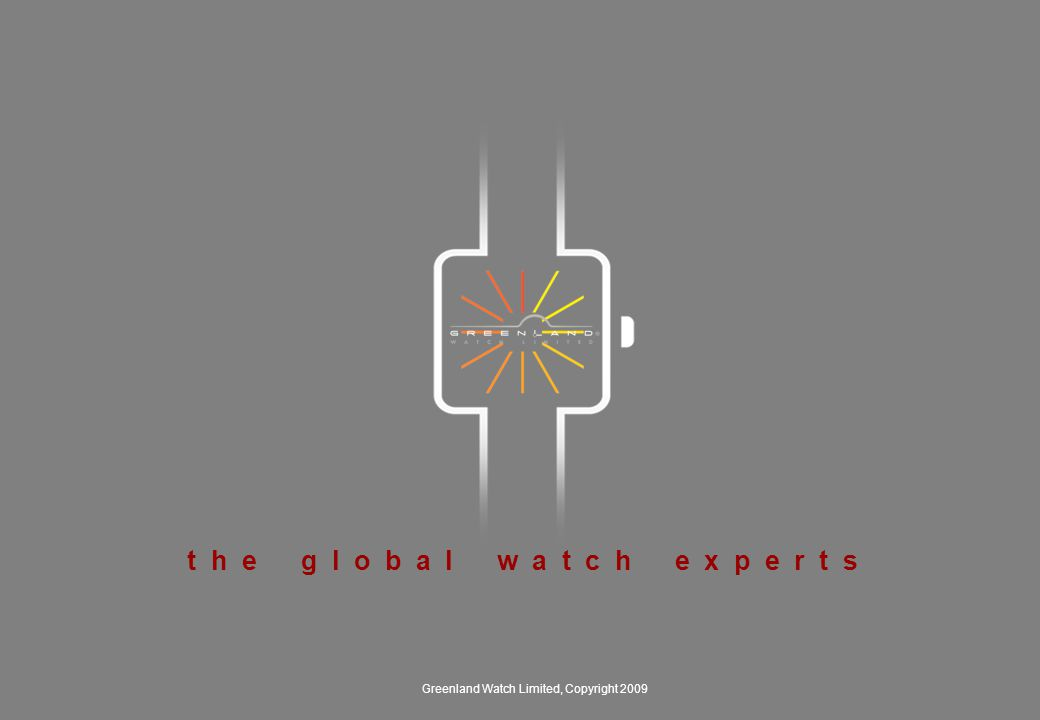 ( Manufacturing ) Deep expertise in watches requires deep manufacturing control Greenland Watch places utmost priority on compliance with all laws, regulations and social norms, while abiding by high business ethics in all our business activities.