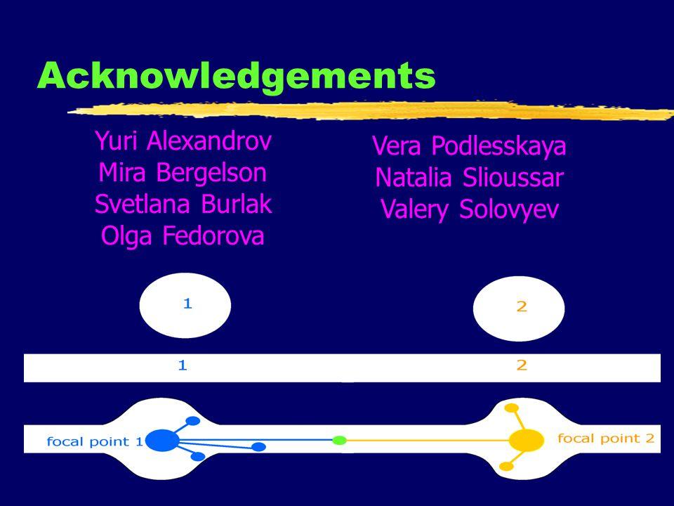 49 Acknowledgements Yuri Alexandrov Mira Bergelson Svetlana Burlak Olga Fedorova Vera Podlesskaya Natalia Slioussar Valery Solovyev