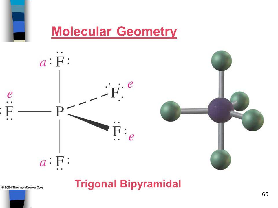 66 Molecular Geometry Trigonal Bipyramidal