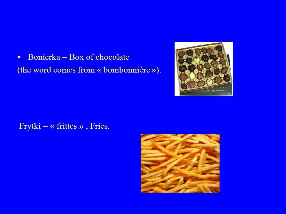 Bagietka = « baguette », french bred. Rondel = Casserole.
