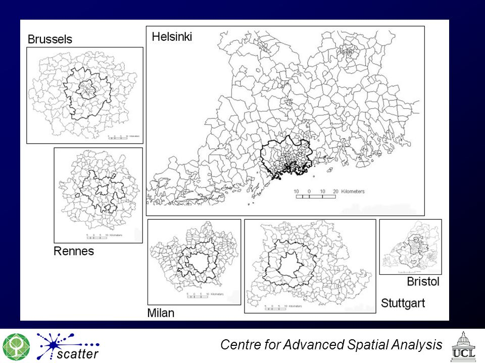 Centre for Advanced Spatial Analysis