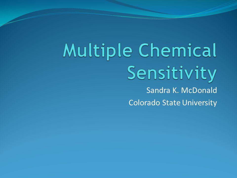 Sandra K. McDonald Colorado State University