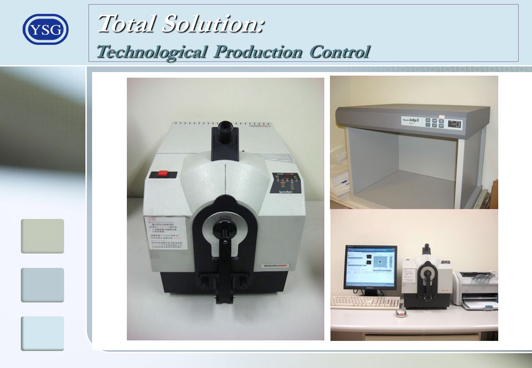 Total Solution: Technological Production Control