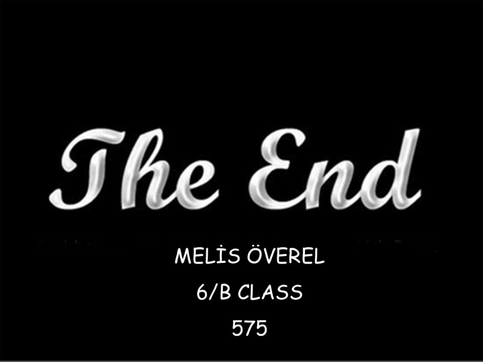 MELİS ÖVEREL 6-B CLASS 575 MELİS ÖVEREL 6/B CLASS 575