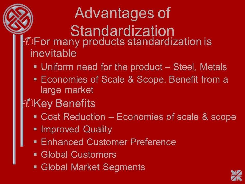 Definition -Global Products are standardized products with a common brand name, with uniform features in all countries Eg: Gillette, Benetton Sweaters