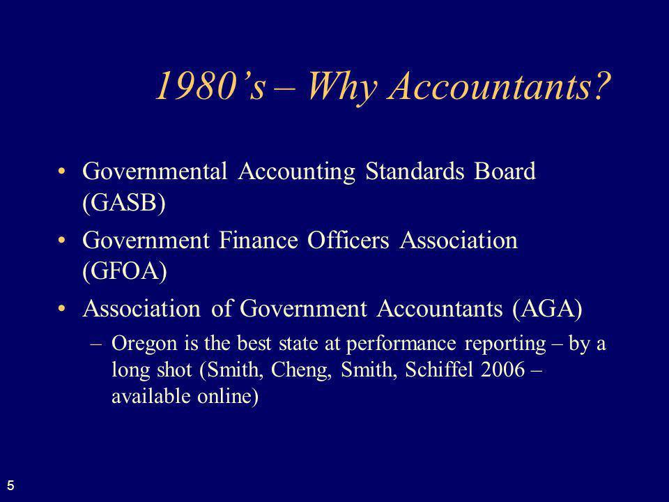5 1980s – Why Accountants.