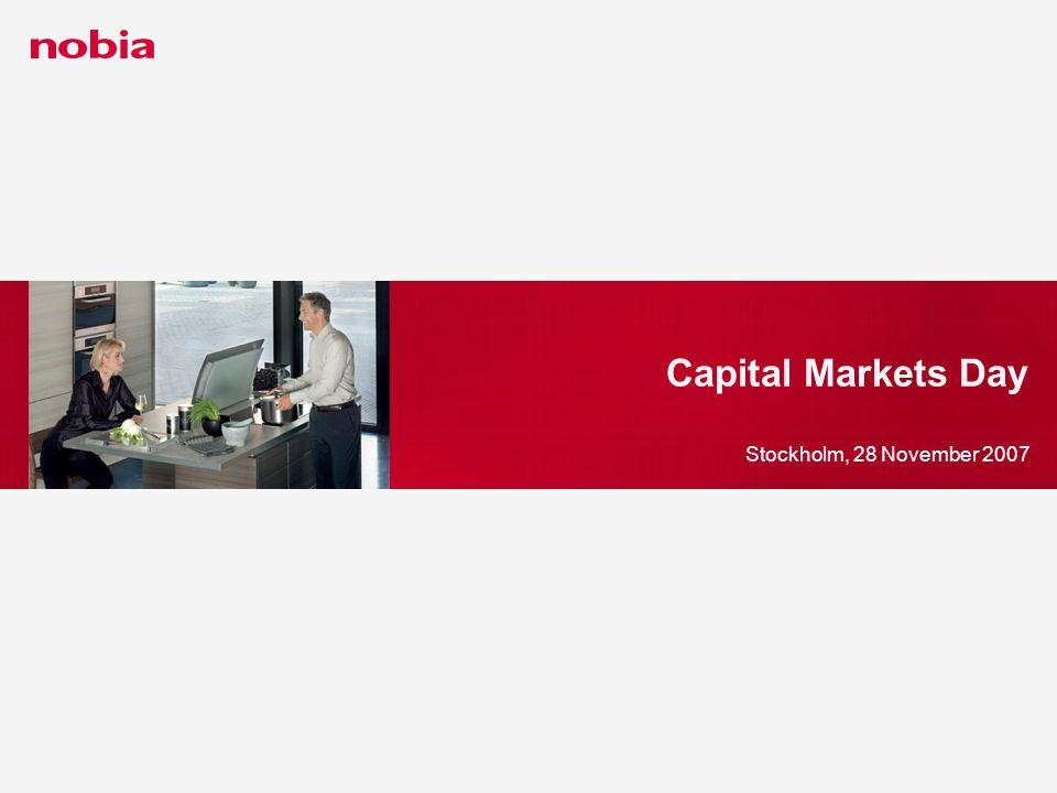 Capital Markets Day Stockholm, 28 November 2007