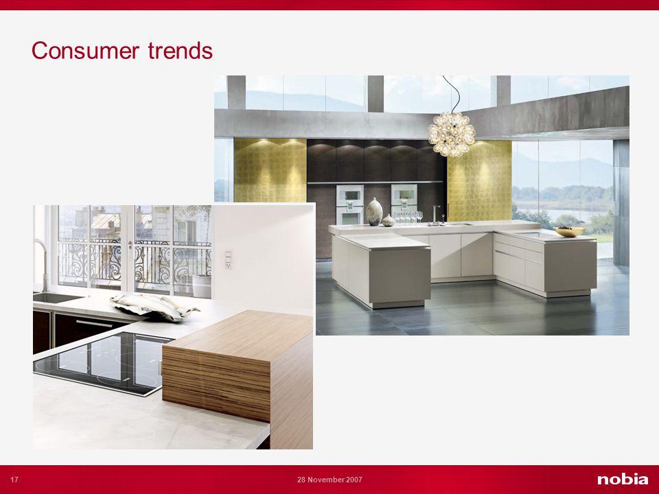 17 28 November 2007 Consumer trends