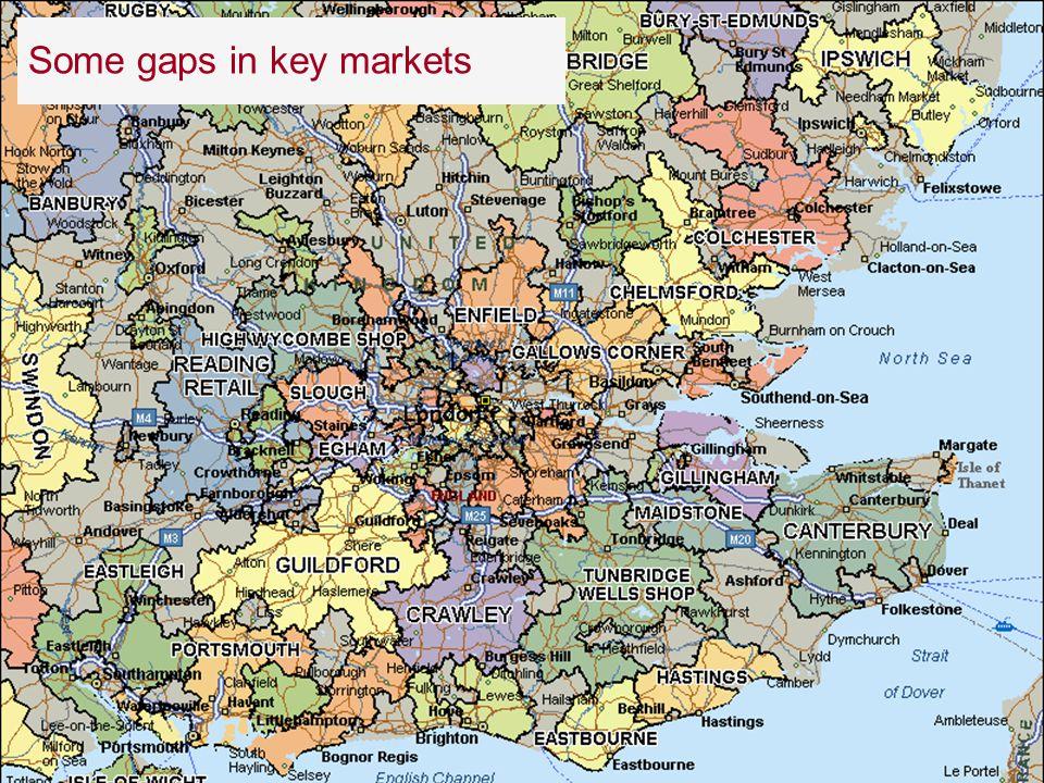 82 28 November 2007 Some gaps in key markets