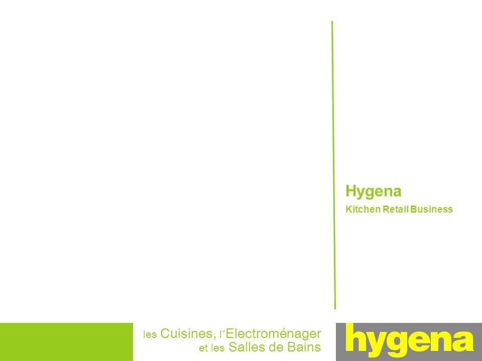 Hygena Kitchen Retail Business les Cuisines, l´ Electroménager et les Salles de Bains
