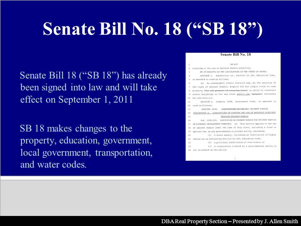 Senate Bill No.