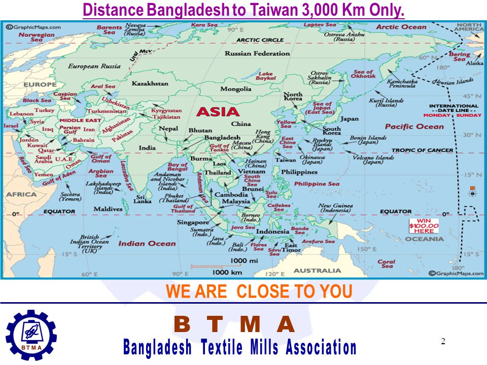 1 Bangladesh Textile Mills Association (BTMA) Presents Opportunities in Bangladesh Textile Industry for Investment from Taiwan BTMA, Dhaka 22 November