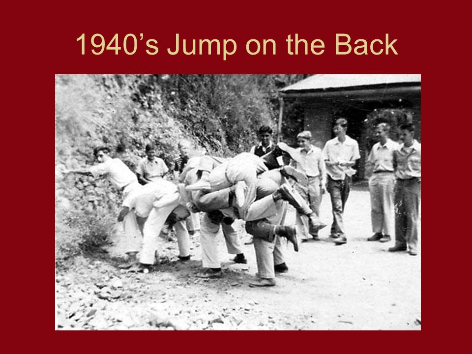 1940s Jump on the Back