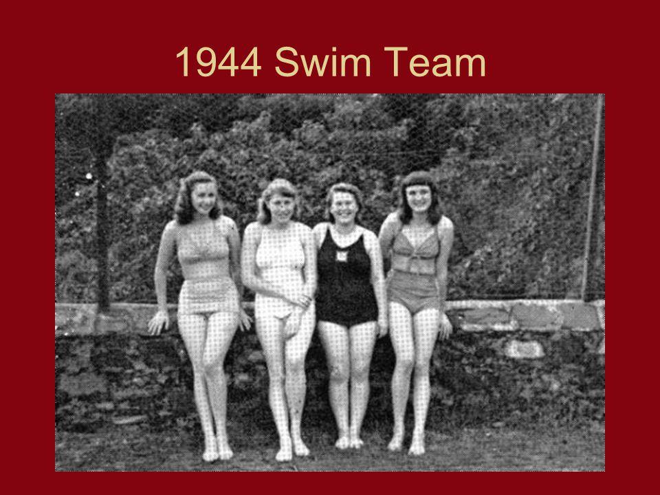 1944 Swim Team