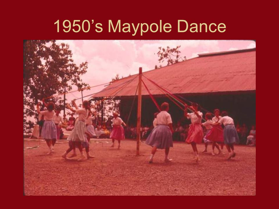 1950s Maypole Dance