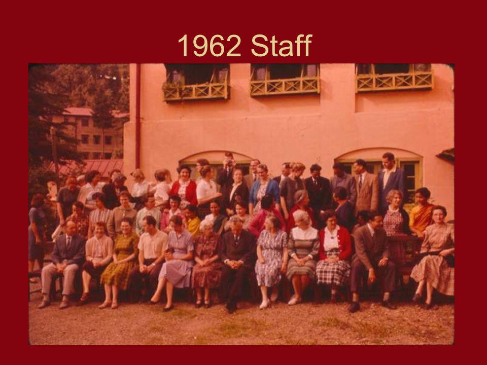 1962 Staff