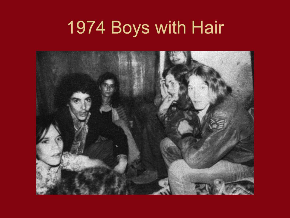 1974 Boys with Hair