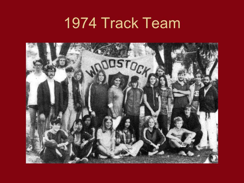 1974 Track Team