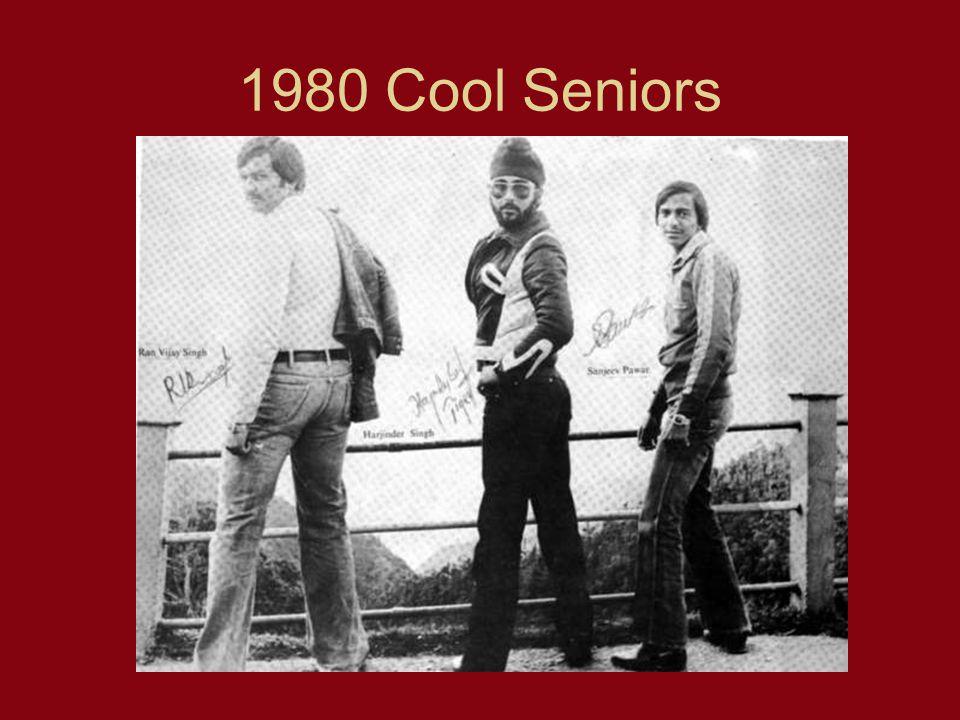 1980 Cool Seniors