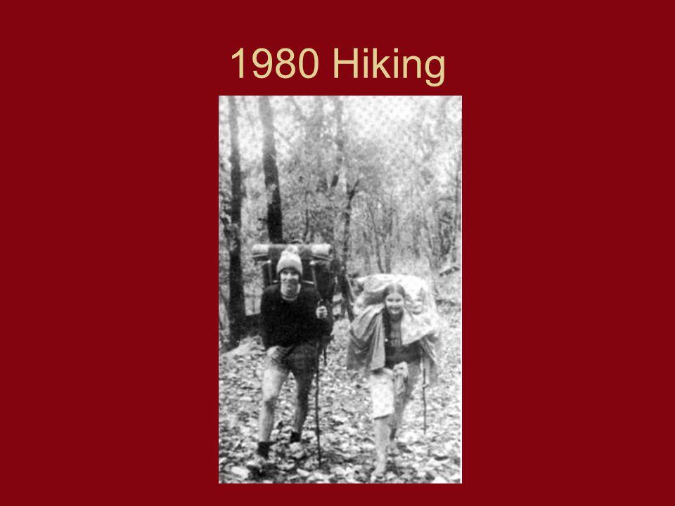 1980 Hiking