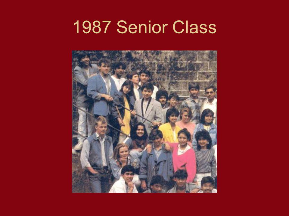 1987 Senior Class