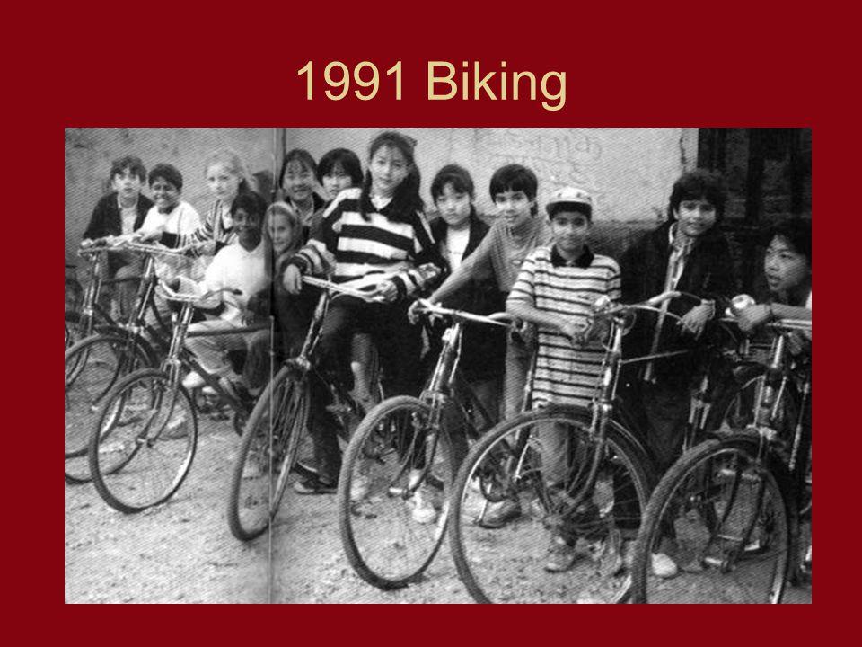 1991 Biking