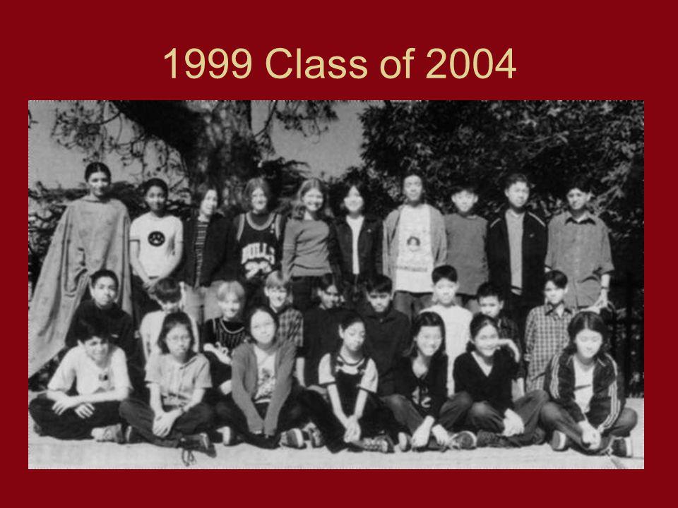 1999 Class of 2004