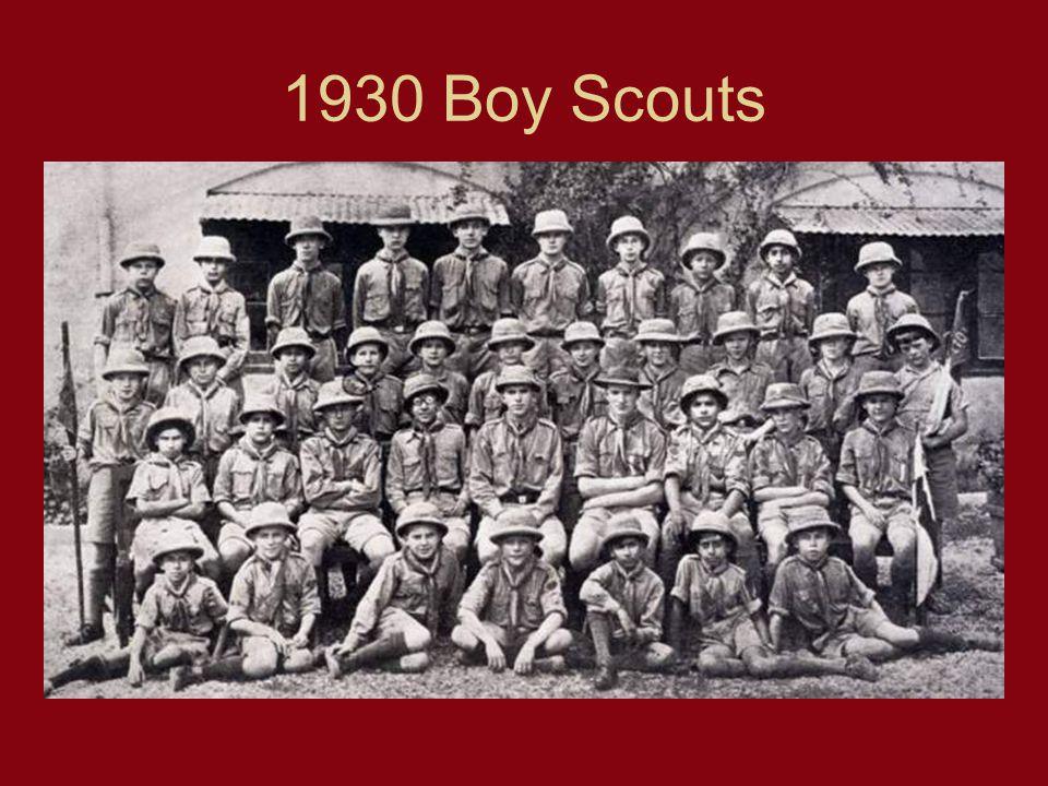 1930 Boy Scouts