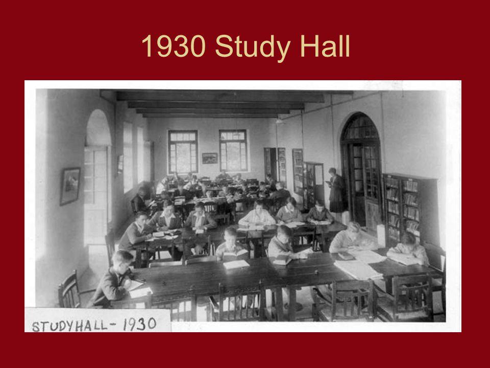 1930 Study Hall